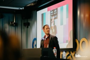 Presenting at the Google office in Amsterdam